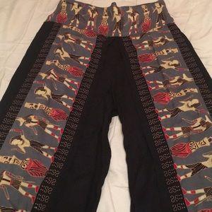 100% rayon pants